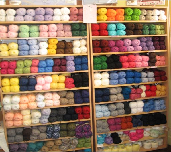 Laines mercerie atelier de mam aouste sur sye dr me - Les differents types de laine ...